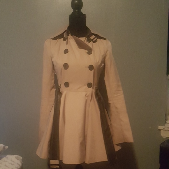 BCBG Jackets & Blazers - BCBG Trench Coat